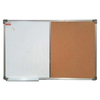 Harga Acura 24 x 48 Whiteboard Combination (Brown/White)