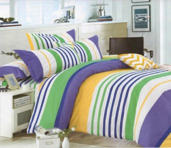 4 piece monet nautical stripes bedsheet sets Price Philippines
