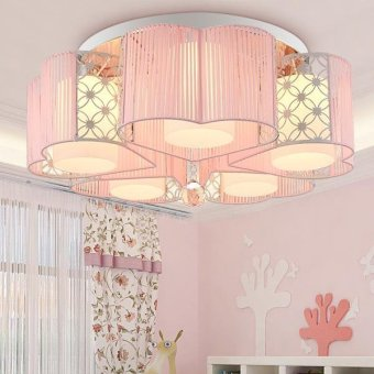 Harga Creative living room bedroom lamp led ceiling lamp Crystal lamps - intl