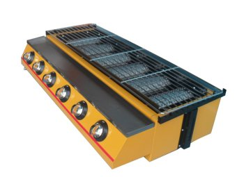 Harga Gas Griller 6 Heads Roaster ET-K233 BBQ Grill (yellow)