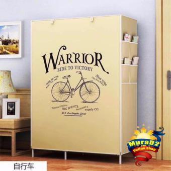 Harga DD-8802Q 3D Panoramic Wardrobe (Bicycle)
