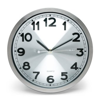 "Modern Lifestyle 12"" Aluminum Wall Clock Price Philippines"