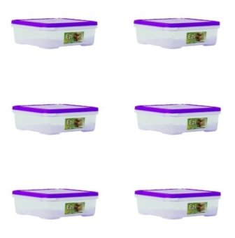 Harga Sunnyware 721 Extra Small Food Keeper Set of 6 (Violet)