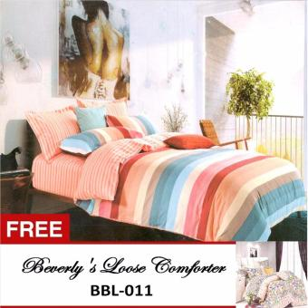 Harga Beverly's Special Loose Comforters (BBL-019)King with Free Beverly's Special Loose Comforter (BBL-011)King