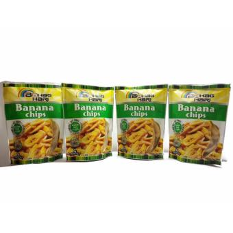 Bahaghari Banana Chips 100grams Set of 4 Price Philippines
