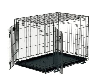 Pet Cage With Tray Size 3 (Black) Price Philippines