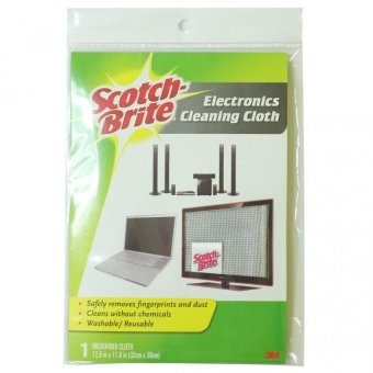 Harga Scotch-Brite Electronics Cleaning Cloth Regular (Grey)