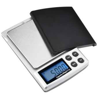 Harga 500g x 0.01g mini precision digital Scale for gold sterling silver jewelry scales 0.01 display units pocket electronic scales - intl