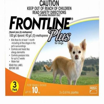 Harga Frontline Plus for Small Dogs up to 10kg