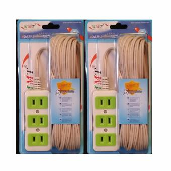 SHOP AND THRIFT MMT-8813 2 Sets of 8M Moveable Multi-Function Extension Wire Cord Price Philippines