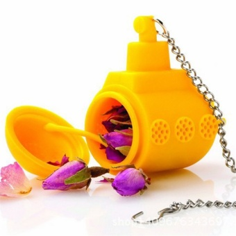 Allwin Tea Sub Yellow Submarine Loose Leaf Herbal Spice Infuser Silicone Spice - intl Price Philippines