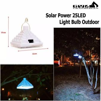 Harga New Powered of Solar LED Light-25 LED Camp Light
