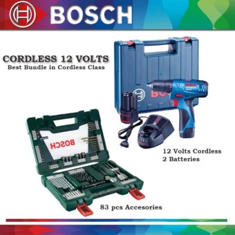 Harga Bosch Cordless Bundle 12 volts