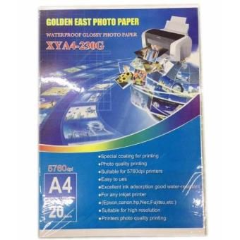Harga Golden East Photo Paper Waterproof Glossy Photo Paper 230g