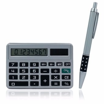Harga Gift Idea Set Basic Solar-Powered Calculator and Pen