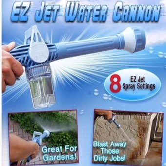 Harga Ez Jet Water Cannon + 55 Ft Expendable X Hose
