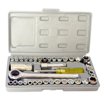 Best Quality 40 Pcs Auto Repair Hand Tool Combination Socket Wrench Set Price Philippines