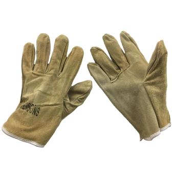 "Meisons leather welding gloves 9.5"" light brown Price Philippines"