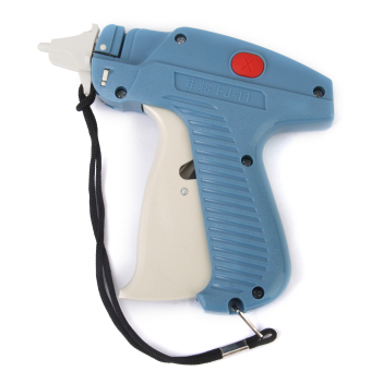 Harga Garment Trademark Label Price Tagging Tag Gun Machine (Blue)