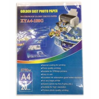 Harga Golden East Photo Paper Water Proof Glossy Photo Paper 180G