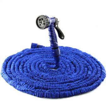 Harga Magic Hose Expandable Garden Hose 75 Feet (Blue)