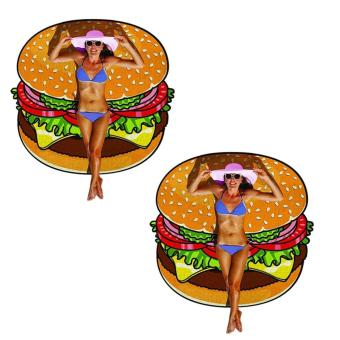 Harga Beach Towel (Burger) Set of 2