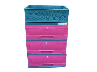 Power Box Chest Drawer D.288-3L(Red) Price Philippines