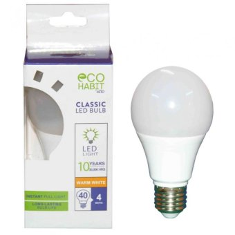 AOD Classic LED BULB 4 Watts - Warm White (White) Price Philippines