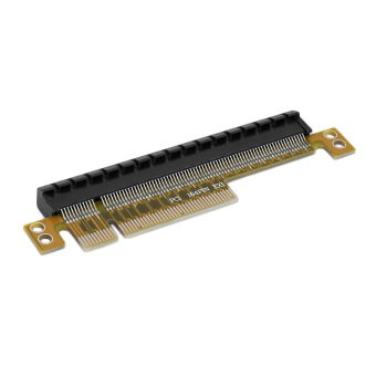 Harga OH PCI-E Express 8X to 16X Durable Adapter Riser Card Without Extended Cable
