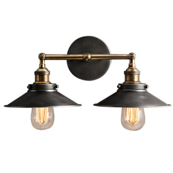 Double Rustic Sconce Wall Light Wall Lamp (Intl) Price Philippines