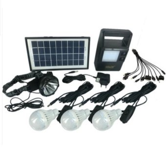 Harga GDLite Solar Lighting System (Black)