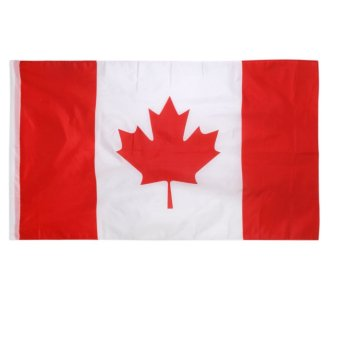 BolehDeals Canada Canadian Flag Maple Leave Flag Big Banner 150*90CM / 5*3FT Price Philippines