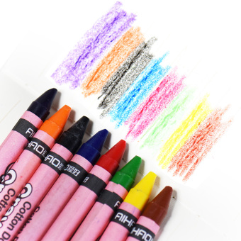 24 Colors Non-Toxic Safe Washable Crayons Colored Pencils Pens Painting Stationery for Kids Children Students Price Philippines