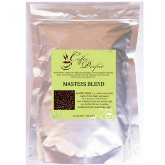 Harga Coffee Perfect Masters Blend 500g (Ground Beans)