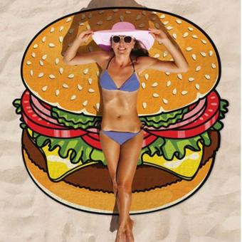 Harga Beach Towel (Burger)