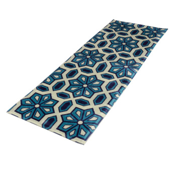 Harga Lucky 1 Pieces Doormat Floor Mat Carpet Rug Office Home Kitchen Rug 120x45cm (Blue) - intl