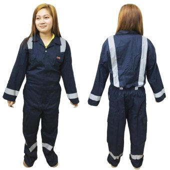 Meisons coverall work suit 100% cotton (5XL) Price Philippines