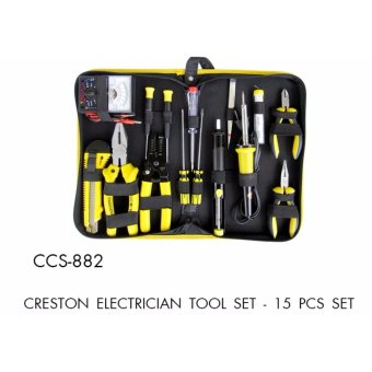 Harga 15 Pcs Set Creston Electrician Tool Set