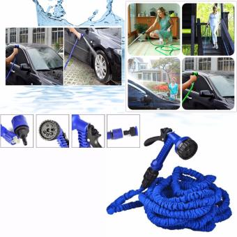 Harga Expandable Flexible 50ft. Garden Hose (Blue)
