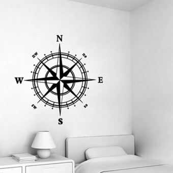 Removable Nautical Compass Vinyl Decal Wall Sticker Mural Kids DIY Home Decor Price Philippines