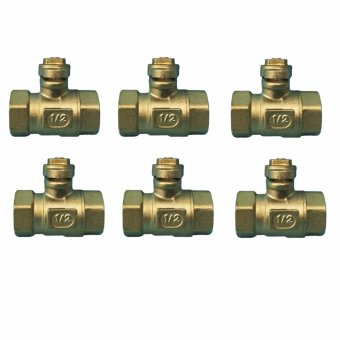"Meisons ball valve with lock wing 1/2"" (6 pcs) Price Philippines"