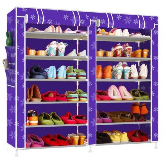 Fashion Shoe Rack (Purple) Price Philippines