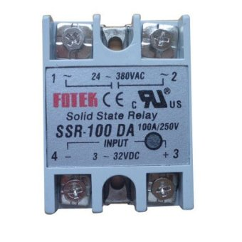Harga Solid State Relay SSR-100 DA DC-AC 100A/250V 3-32VDC Input 24-380VAC Output- - intl