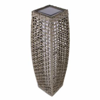 Harga PhoenixHub Rattan Automatic Solar Rechargeable Outdoor Garden Home lamp light