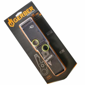 Harga Gerber GDC Belt Tool G-10 black belt buckle with Concealed Tool Knife