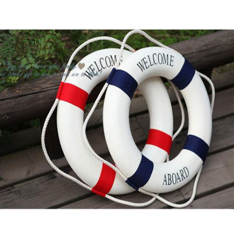 Welcome Red Nautical Wall Decor Ship Boat Ring Life Buoy Preserver 14cm Price Philippines