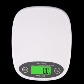 Harga LED Electronic Kitchen 3Kg/0.5 Digital Scale Food digital scales - Intl