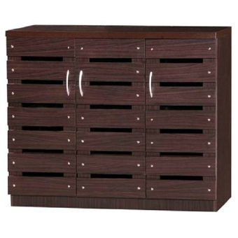 MyHomeIFC SR0055 Shoe Rack / Shoe Cabinet (Wenge) Price Philippines