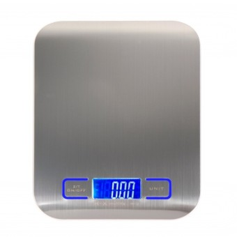 Harga Cheap Digital Scale Stainless Steel 11 LB / 5000g Kitchen Scales Cooking Measure Tools Electronic Weight LED Food Scale