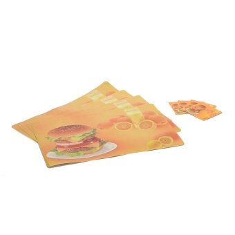 Harga Sponge Placemat Set of 8 (Burger)